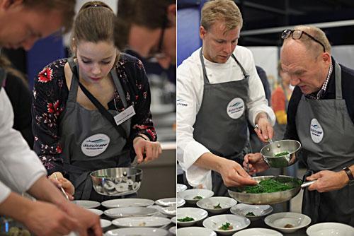 Kochevent bei Deutsche See Berlin