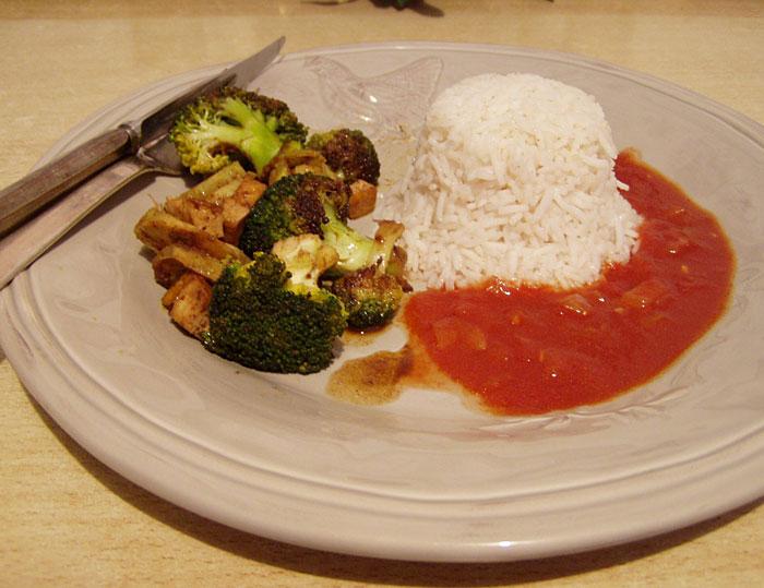 Brokkoli mit Lebkuchengewürz