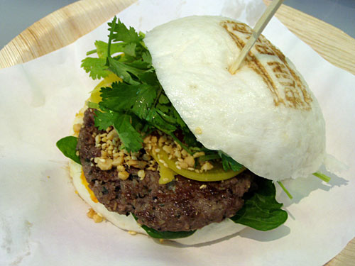 Burger asian style