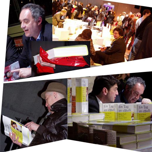 Signaturstunde mit Ferran Adrià