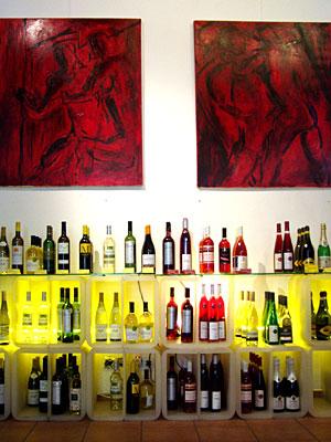 Galerie Orange Weinhandlung Berlin Friedrichshain