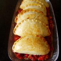 Kabeljau-Kartoffel-Empanadas