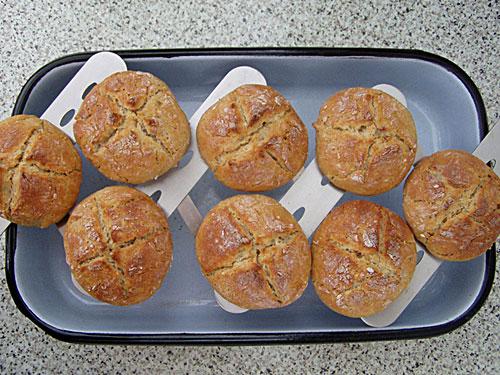Kartoffel-Buchweizen-Brötchen