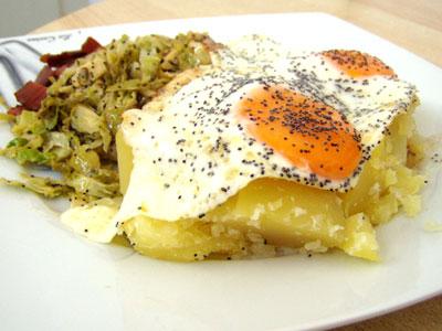 Rosenkohl mit Mohn und Zitrone