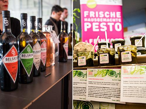 Belsazar Vermouth und Pesto vom Pesto-Dealer