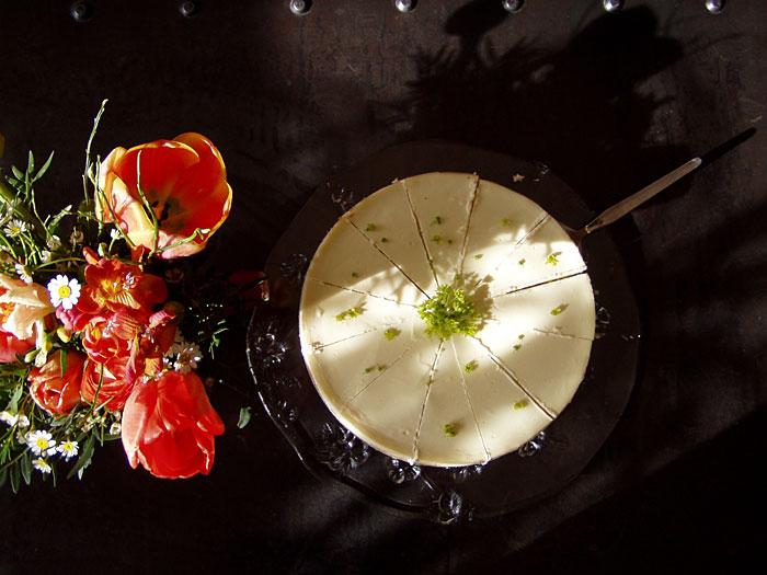 No York Cheesecake mit Ahornblüten