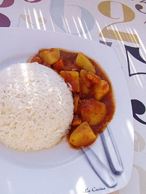 Kartoffel-Süßkartoffel-Curry
