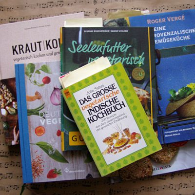 vegetarische Lieblingskochbücher