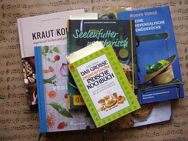 vegetarische Lieblings-Kochbücher