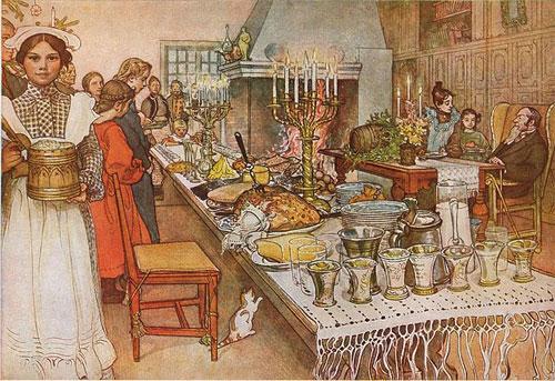 Julaftonen av Carl Larsson 1904