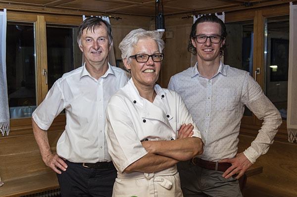 Familie Moosbrugger vom Biohotel Schwanen Bizau